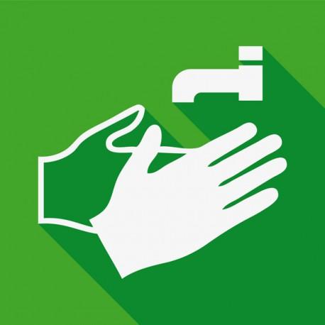 Procedura lavaggio delle mani