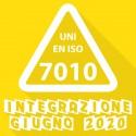 Integrazione Segnaletica di Pericolo - UNI EN ISO 7010